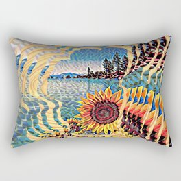 Tahoe Sunburst Rectangular Pillow
