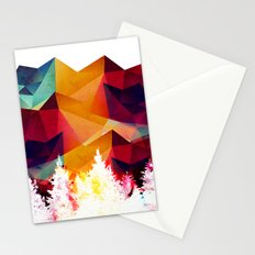Forest made of color Stationery Cards