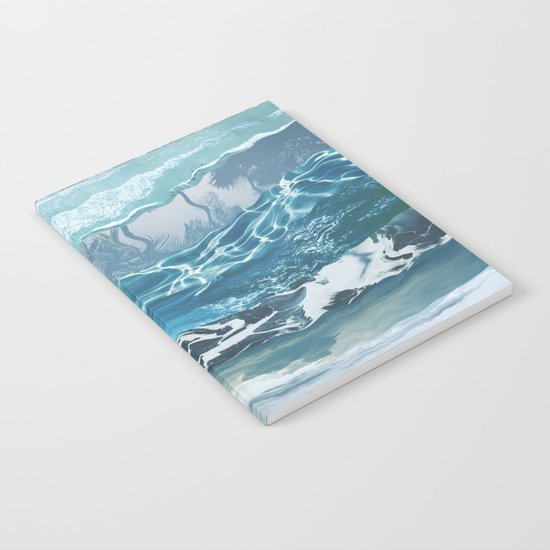 Sea abstract Notebook