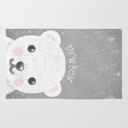 Snow Bear Rug