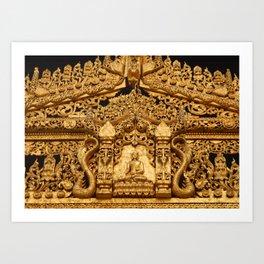 Shwedagon Art Print