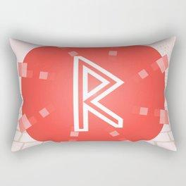 Motion. Raidho rune Rectangular Pillow