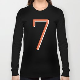 The Lucky Number Seven Long Sleeve T-shirt