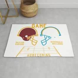 THE RIVALRY GAME New Rug