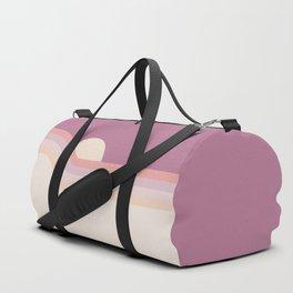 Lilac Rainbow Dipper Duffle Bag