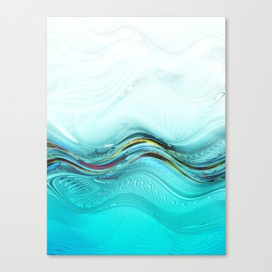Fractal Wave Canvas Print