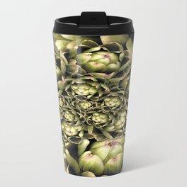 Artichoke Abstract Travel Mug