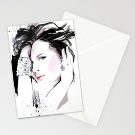 Fashion Painting #7 Stationery Cards