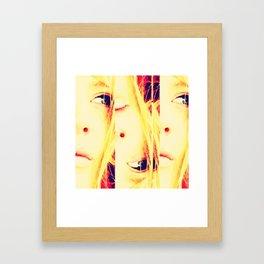 Breaking it Up Framed Art Print