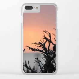 Cape Sounio 1 Clear iPhone Case