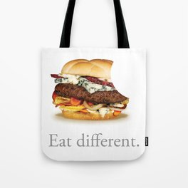 Eat Different. Tote Bag