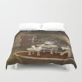 A Merrier World Duvet Cover