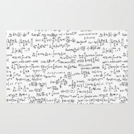 Math Equations Rug