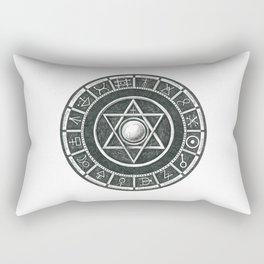 Alchemist's Seal Rectangular Pillow
