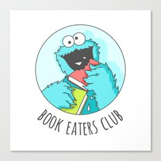 Book Monster Canvas Print