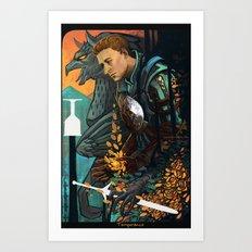 In Peace Vigilance Art Print