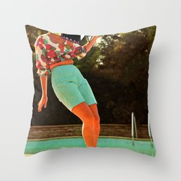 creature in my head Throw Pillow