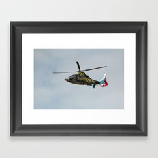 Helicopter Panther - Hyeres411-2010 Framed Art Print