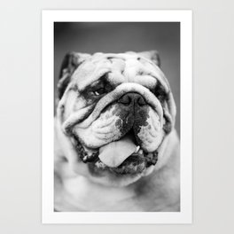 Man's Best Friend Art Print