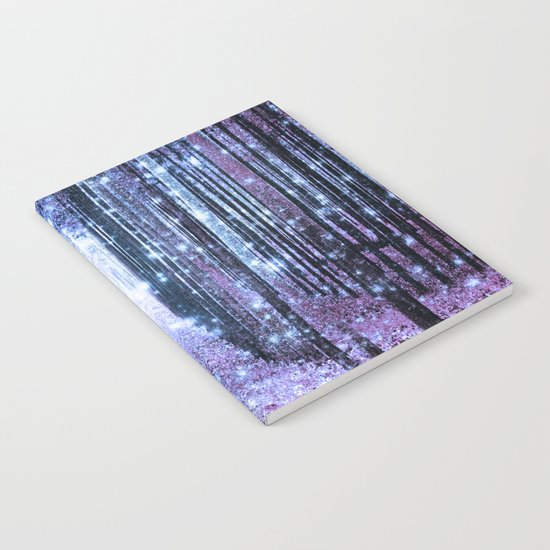 Magical Forest Lavender Periwinkle Notebook