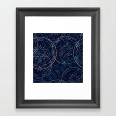 jupiter sacred Framed Art Print
