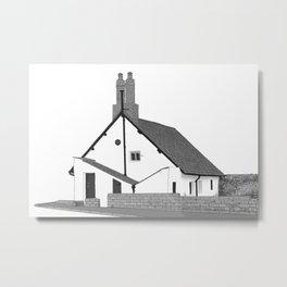 Sir John Barrow Cottage Metal Print