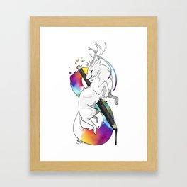 RitheWolf - To Be an Artist Framed Art Print