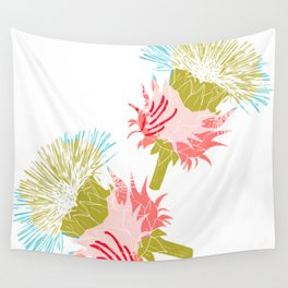 Pure flower Wall Tapestry