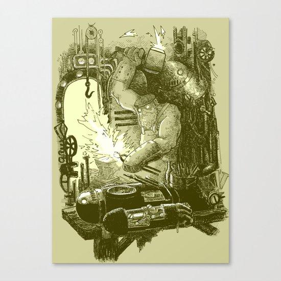 Doombots Canvas Print