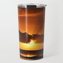 Behind the cloud. Travel Mug