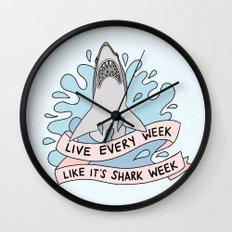 Live every week like it's shark week Wall Clock