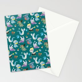 Dragon Dance Stationery Cards