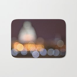 Abstract Bokeh Capitol Bath Mat