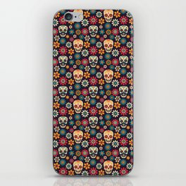 Day Of The Dead Pattern | Dia De Los Muertos Skull iPhone Skin