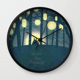 Totoro ' s Dream  Wall Clock