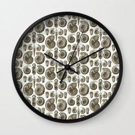Ernst Haeckel Ammonitida Ammonite Wall Clock