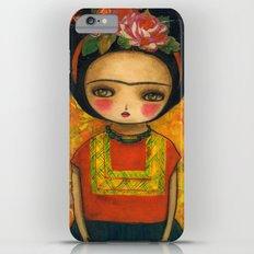 Frida In An Orange And Green Dress Slim Case iPhone 6 Plus