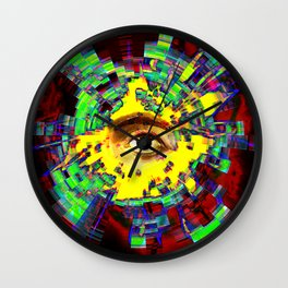 eye in the sky Wall Clock