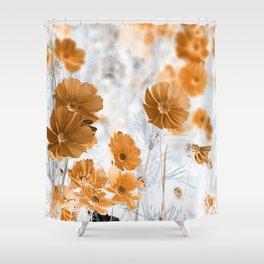COSMOS-100119/1 Shower Curtain