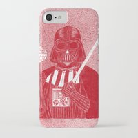 darth iPhone & iPod Cases featuring Darth Vader by David Penela