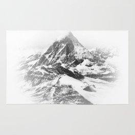Blurry Mountain Rug