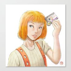 The Fifth Element - Leeloo Multipass Canvas Print