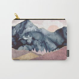 Mauve Vista Carry-All Pouch