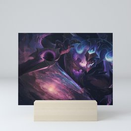 Dark Star Shaco league of legends Mini Art Print