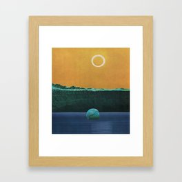 The Drowned World Framed Art Print