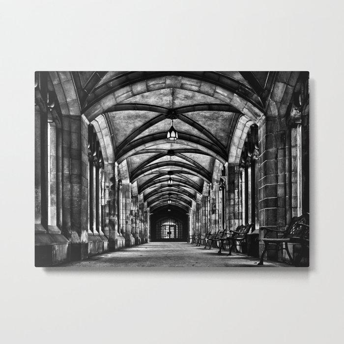University of Toronto Knox College Cloister No 1 Metal Print
