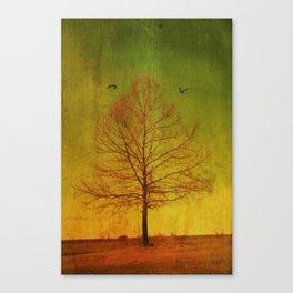 Running Thru My Veins Canvas Print