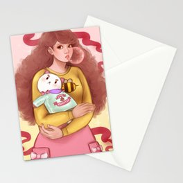 Bee and Puppycat Stationery Cards