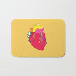 Countdown Heart Bath Mat