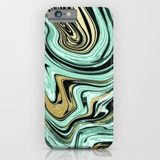 MARBELLOUS IN MINT AND GOLD Slim Case iPhone 6